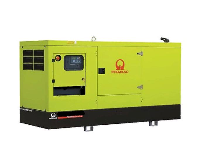 Газовый генератор Pramac GGW150G в кожухе — 120 кВт-1