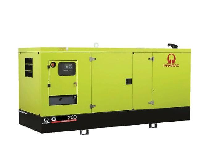 Газовый генератор Pramac GGW200G в кожухе — 160 кВт