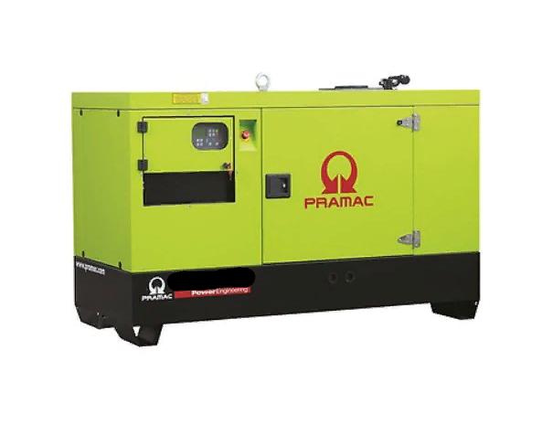 Газовый генератор Pramac GGW50G в кожухе — 45 кВт