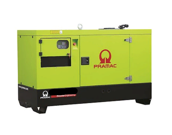 Газовый генератор Pramac GGW70G в кожухе — 56 кВт